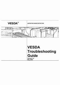 Vesda Troubleshooting Guide