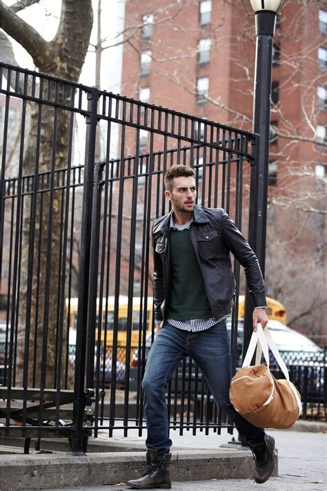 How To Wear The Leather Jacket Paul Mcgregor
