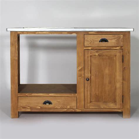 meubles cuisine bois meuble de cuisine en bois pour four et plaques cagne