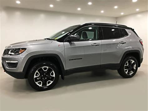 jeep compass sunroof 2017 jeep compass trailhawk 4x4 sunroof navigation
