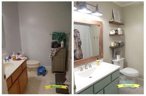 main bathroom reveal staying   sunnyside