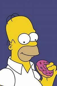 Homer Donut iPhone Wallpaper HD