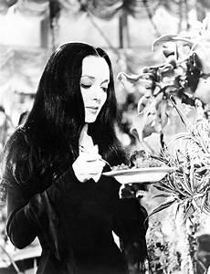 Queens of Halloween: Morticia Addams (Carolyn Jones ...