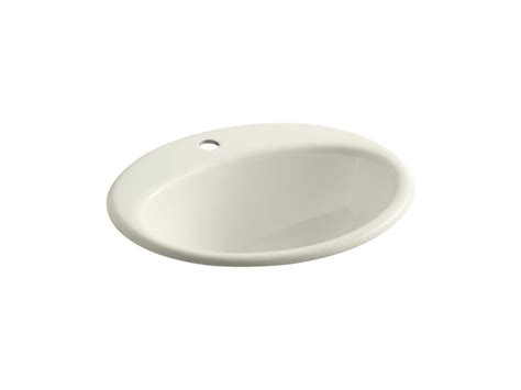 kohler farmington sink kohler farmington self bathroom sink in biscuit