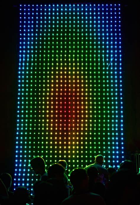 giant led light show