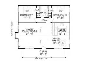 two bedroom cottage floor plans cabin plans 2 bedroom cabin plan 062h 0002 at
