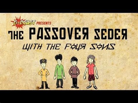 the passover story of the four sons brought to g 775 | hqdefault
