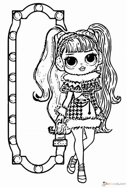 Coloring Omg Dolls Pages Lol Popular
