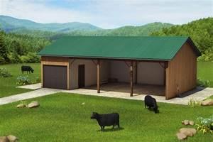 organic cattle ranch by teddy bolkas kickstarter With 3 sided pole barn