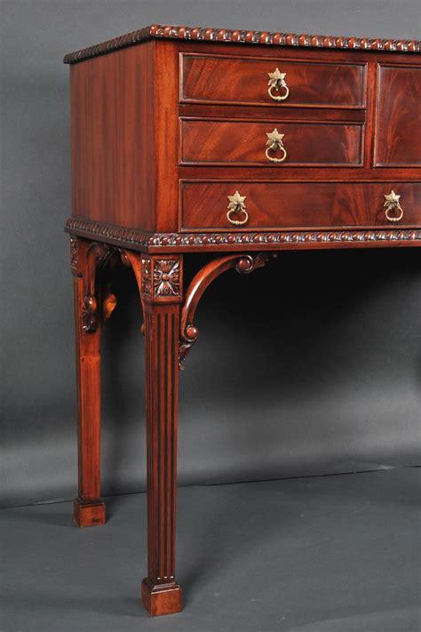 mahogany silver chest tall server buffet  legs