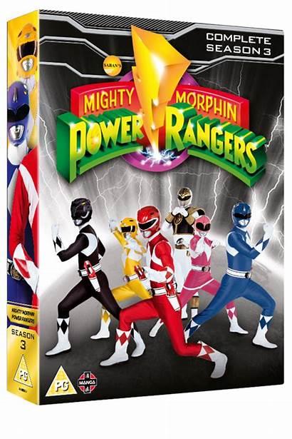 Rangers Power Season Complete Mighty Morphin Dvd