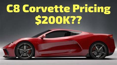 2020 C8 Corvette Pricing