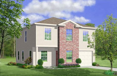 lgi homes floor plans san antonio lgi homes spruce elevation