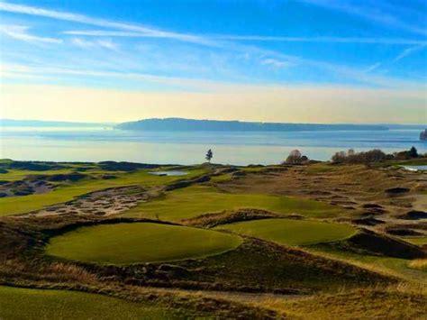 chambers bay university place golf washington usa courses