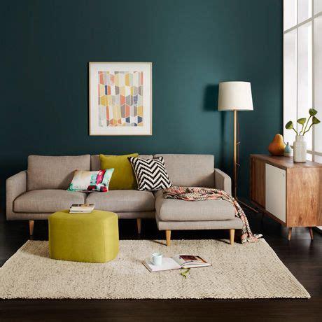 duo gagnant bleu canard et jaune salons living rooms