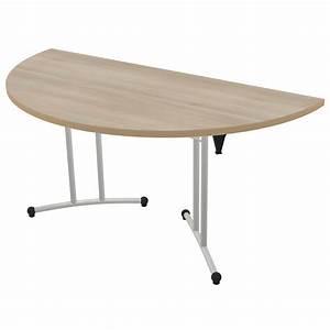 Table Demi Lune Pliante : table pliante demi lune classime l 160 cm pi tement poxy ~ Dode.kayakingforconservation.com Idées de Décoration