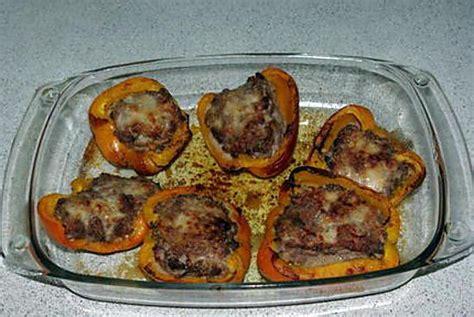 cuisiner un poivron recette de poivron jaune farci
