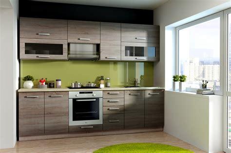 Küche Ben 260 Cm Küchenzeile / Küchenblock Variabel