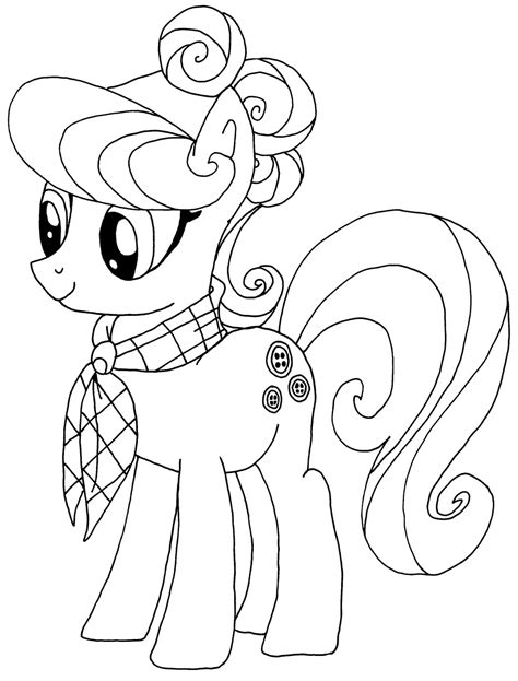 top    pony coloring pages printable