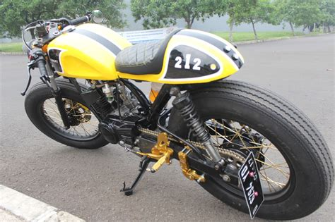 Rx King Warna Kuning by Rx King Cafe Racer