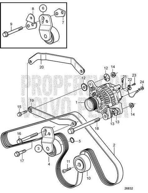 volvo penta d4 260 alternator wiring diagram volvo auto