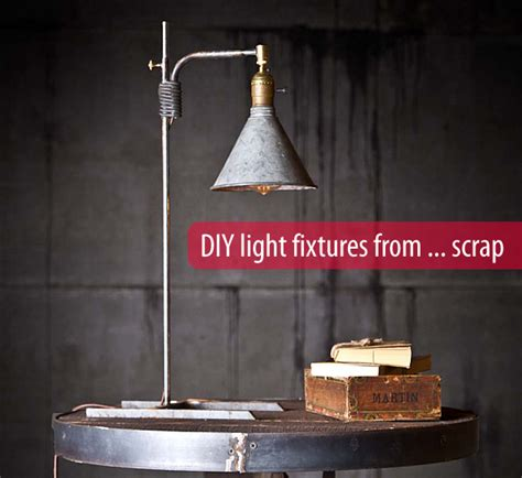 diy lighting upcycling household products to light