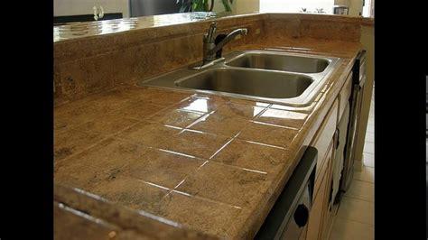 ceramic tile kitchen countertops designs youtube
