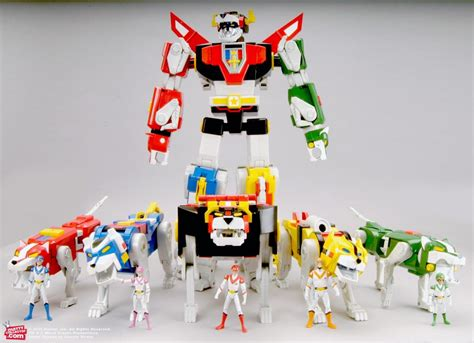 voltron toys toy mattel lion force classic golion line complete club figure thirtieth anniversary ago days collection long scale tall