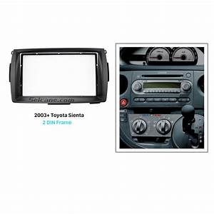 Best Double 2 Din 2003  Toyota Sienta Car Radio Fascia