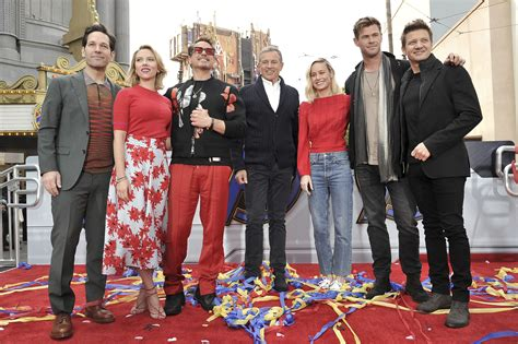 PHOTOS: Avengers help unveil $5M donation for seriously ...