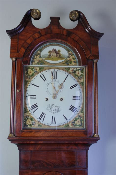 19th century longcase grandfather clock upwell norfolk 241080 sellingantiques co uk