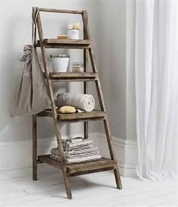 étagère échelle Ikea : 16 objets recycl s que vous aimeriez bien avoir la maison ~ Premium-room.com Idées de Décoration