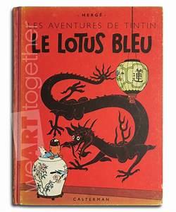 Le Lotus Bleu Levallois : herg tintin le lotus bleu eo couleur 1946 b1 ~ Gottalentnigeria.com Avis de Voitures