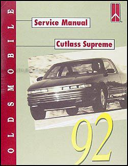 car repair manuals online free 1992 oldsmobile 88 head up display 1992 oldsmobile cutlass supreme repair shop manual original
