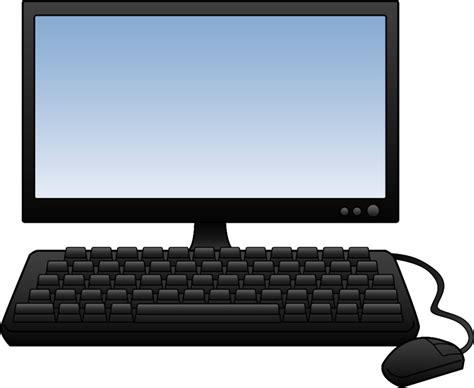 Cyber Clipart Classroom Computer