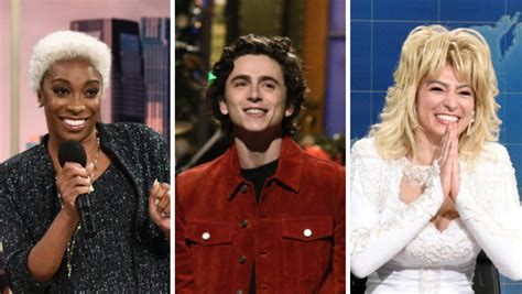 Saturday night live will be live from new york again when it returns this fall. Saturday Night Live Season 46, Episode 8: Timothee ...