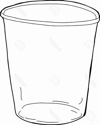 Cup Clipart Empty Plastic