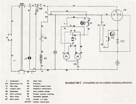 solucionado diagrama electrico de lavaurora 5116t yoreparo