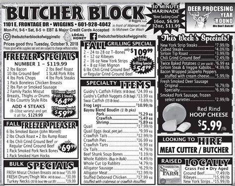 The Butcher Block Of Wiggins, Llc  Posts Facebook