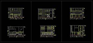 Kitchen Design Template】★ - CAD Files, DWG files, Plans