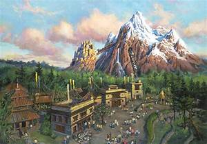 WDWThemeParks.com - Expedition Everest Photos Concept Art