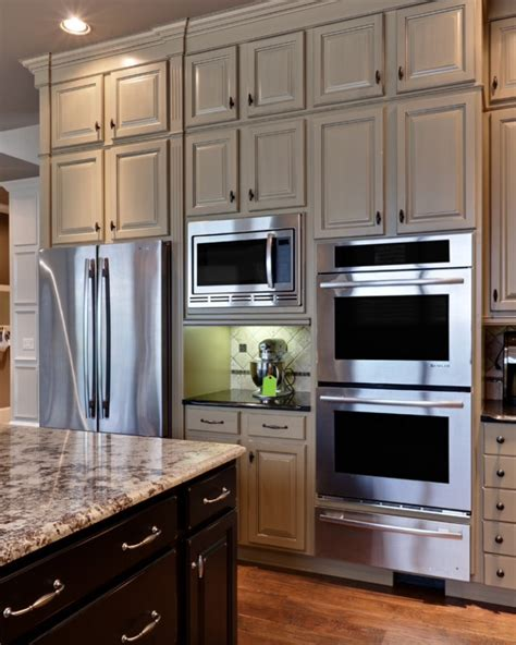 kitchen cabinet for wall oven double oven kitchen pinterest