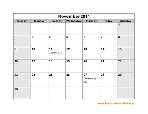 november  calendar printable template httpwww