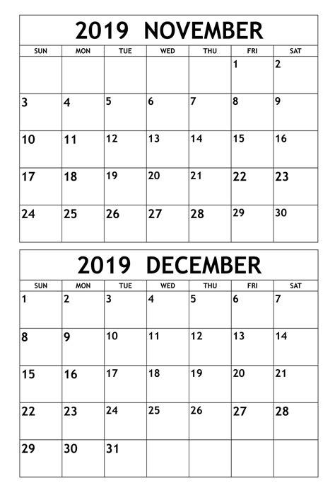 november  december  calendar template  calendars  students education november