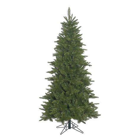 unlit white trees slim vickerman 382622 5 5 x 37 quot slim durango spruce tree a154055 elightbulbs
