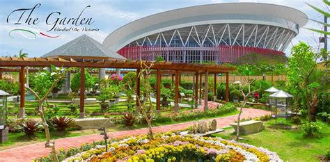 The Garden Is Located At The Philippine...