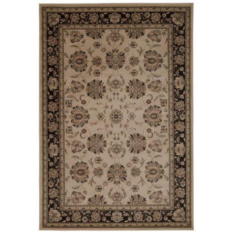 www overstock rugs nourison overstock ararat ivory grey 5 ft 3 in x 7 ft 4