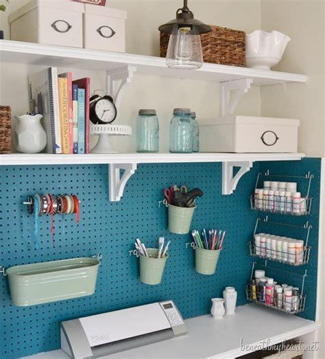 Small Desk Organization Ideas by Inspiration Craft Closet Organization The Inspired Room