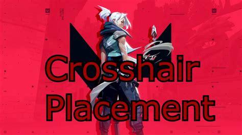 valorant aim crosshair placement