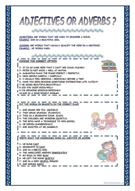 workbooks 187 nouns verbs adjectives and adverbs worksheets
